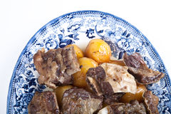 Uzbek dish of meat Stock Image