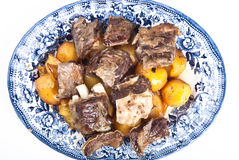 Uzbek dish of meat Royalty Free Stock Photos