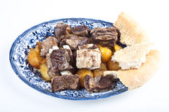 Uzbek dish of meat Stock Photo