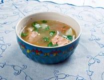 Uzbek fish soup Stock Photography