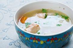 Uzbek fish soup Royalty Free Stock Photography
