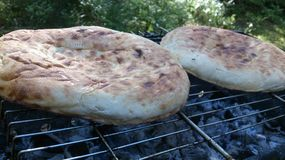 Uzbek flatbread Royalty Free Stock Image