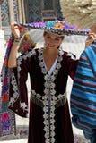 Uzbek Girl In Samarkand Stock Images