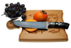 The Uzbek knife Stock Images