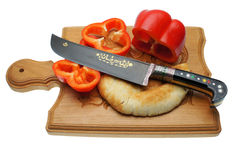 The Uzbek knife Stock Photo