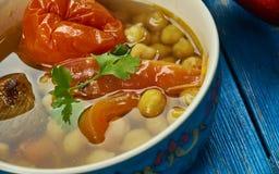Uzbek Kyurdik shorva Stock Image