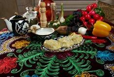 Uzbek  manti Royalty Free Stock Photography