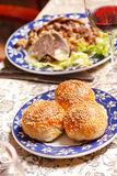 Uzbek national dish Stock Photos