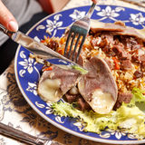 Uzbek national dish Royalty Free Stock Photo