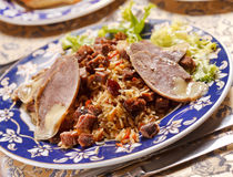 Uzbek national dish Royalty Free Stock Photos