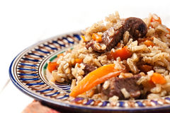 Uzbek national dish Stock Photography