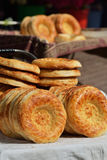 Uzbek National Flatbread Stock Image