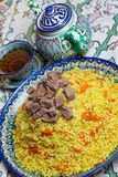 Uzbek pilaf Royalty Free Stock Image