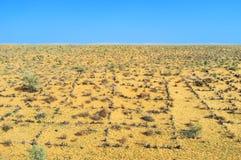 Uzbek pustynia Obrazy Stock