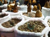 Uzbek spices at the market Stock Photo