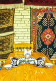 The Uzbek teahouse Royalty Free Stock Photos
