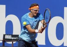 Uzbek tennis player Denis Istomin Royalty Free Stock Photography