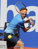 Uzbek tennis player Denis Istomin Royalty Free Stock Image
