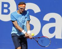 Uzbek tennis player Denis Istomin Royalty Free Stock Photos
