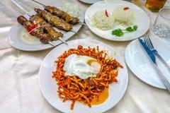 Uzbek Tradycyjna kuchnia 04 zdjęcie stock