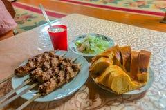 Uzbek Tradycyjna kuchnia 07 zdjęcia royalty free