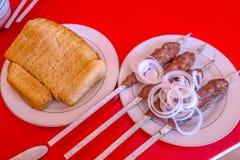 Uzbek Tradycyjna kuchnia 02 obraz stock