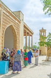 The Uzbek worshipers Royalty Free Stock Images