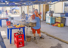Uzbeka fast food Obrazy Stock