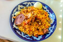 Uzbekisk traditionell kokkonst 10 arkivfoton