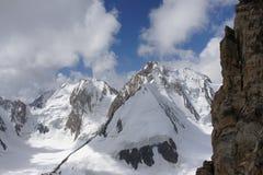 Uzbekistán máximo 5100 m, Pamir-alay, Kirgyzstan Imágenes de archivo libres de regalías