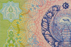 Uzbekistan-Banknotedetail Lizenzfreies Stockbild