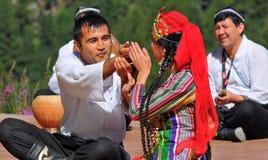 Uzbekistan Dance Group Stock Photography