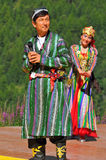 Uzbekistan Dance Group Royalty Free Stock Photos