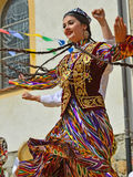 Uzbekistan Dancers Royalty Free Stock Photo