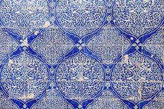 Uzbekistan. Details of the mosaic at the Tash Khovli Palace, the summer residence of Khivan Khans, at Itchan Kala, Khiva, Uzbekistan. Itchan Kala is the walled Stock Photography