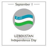 Uzbekistan Independence Day, September 1 Royalty Free Stock Photos