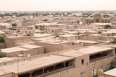 Uzbekistan. Itchan Kala view, Khiva, Uzbekistan. Itchan Kala is the walled inner town of the city of Khiva. Since 1990 it has been protected as a World Heritage Royalty Free Stock Photography