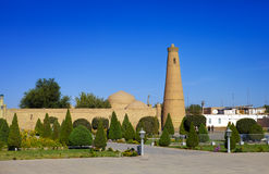 Uzbekistan. Khiva. Streets of the old city Royalty Free Stock Images
