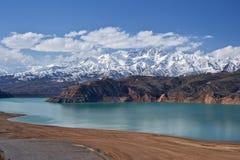 Uzbekistan. Mountains in the east of Uzbekistan royalty free stock image