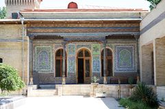 Uzbekistan. The Museum of the applied art, Tashkent, Uzbekistan. Housed in a traditional house originally commisioned for a tsarist diplomat stock photography