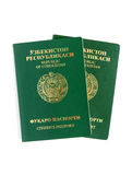 Uzbekistan passports Stock Photos