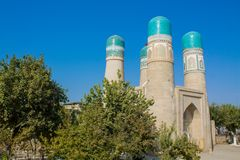 Uzbekistan piękny miasto Samarkand i Bukhara architektoniczni zabytki zdjęcia royalty free