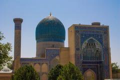 Uzbekistan piękny miasto Samarkand i Bukhara architektoniczni zabytki obrazy royalty free