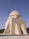 Uzbekistan Rukhabad Mausoleum in Samarkand. Historical place,Rukhabad Mausoleum in Samarkand, Uzbekistan, XIV century royalty free stock photography