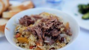 Uzbekistan ryż Fotografia Royalty Free