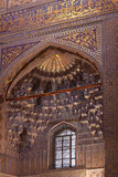Uzbekistan  Samarkand  Gur-e Amir mausoleum decor Stock Image