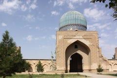 Uzbekistan, Samarkand Shah-i-Zinda complex in Samarkand. Historical place, Shah-i-Zinda complex in Samarkand, Uzbekistan, XV century royalty free stock images