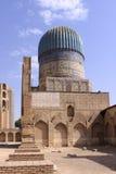 Uzbekistan, Samarkand Shah-i-Zinda complex in Samarkand. Historical place, Shah-i-Zinda complex in Samarkand, Uzbekistan, XV century royalty free stock photography