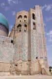 Uzbekistan, Samarkand Shah-i-Zinda complex in Samarkand. Historical place, Shah-i-Zinda complex in Samarkand, Uzbekistan, XV century stock photo