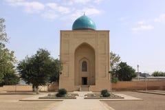 Uzbekistan, Samarkand Shah-i-Zinda complex in Samarkand. Historical place, Shah-i-Zinda complex in Samarkand, Uzbekistan, XV century stock image